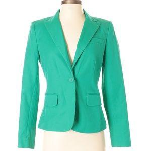 Green Calvin Klein Blazer Size 2